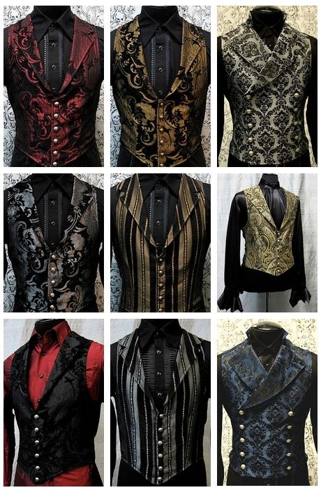 I can't for the life of me remember where to buy these exact vests, but I know you can get some from Shrine Store. Perhaps Dracula Clothing aswell.