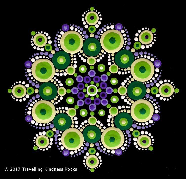 April 2017 Pattern Club Mandala - Macmillan Cancer Support UK