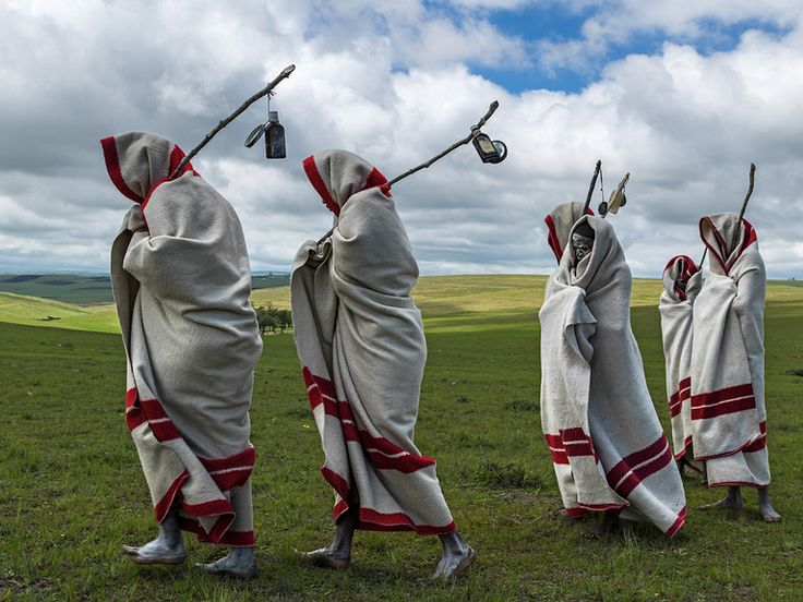 South Africa - Xhosa initiates (Brent Stirton Photography)