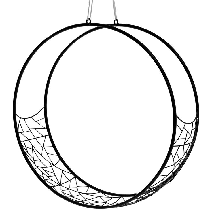 Buy Wheel Hanging Swing Chair by Studio Stirling - Made-to-Order designer Furniture from Dering Hall's collection of Contemporary Industrial Transitional Organic Accent & Occasional.