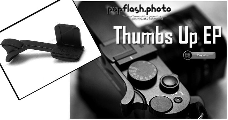 New #ThumbsGrip for leica digital camera and Fujifilm Fuji digital camera, thumb grip can make it convenient to place the thumb directly over the control wheel.