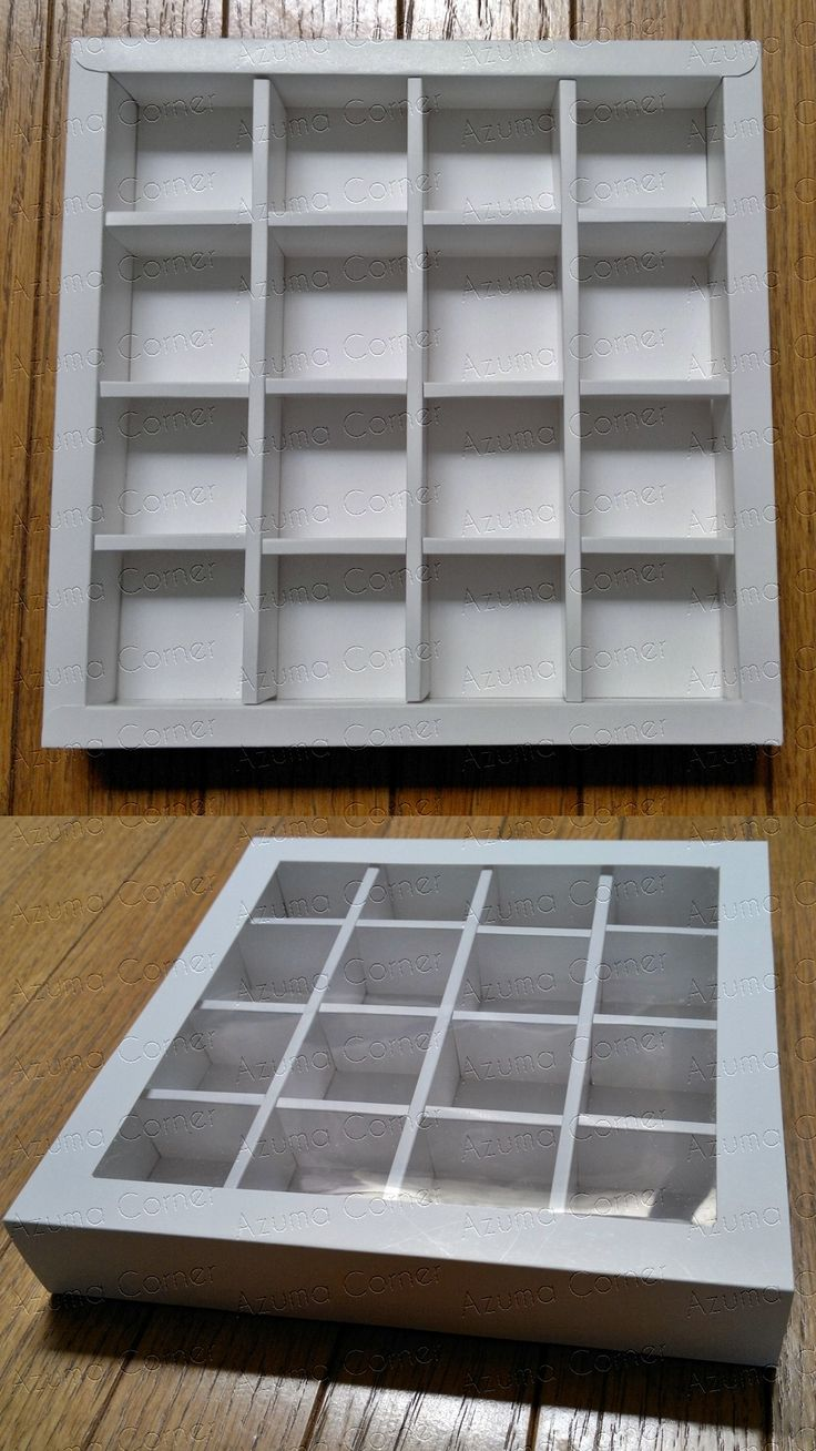 Box Cokelat isi 16 (4x4)