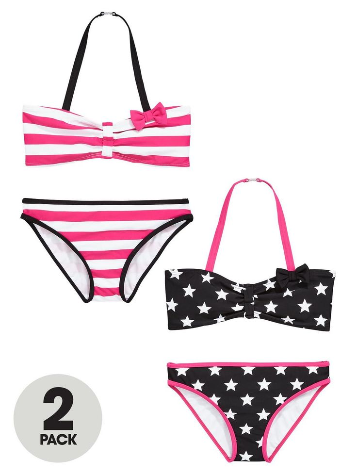 Girls Stars and Stripes Bikinis (2 Pack), http://www.very.co.uk/v-by-very-girls-stars-and-stripes-bikinis-2-pack/1600049749.prd