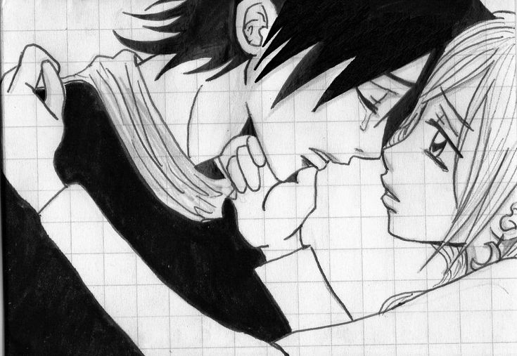 Images for sad love anime drawings drawing pinterest - Anime couple pictures ...