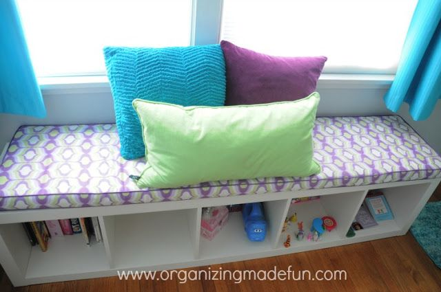 Green, Turquoise, and Purple - Great for a room that's shared by a boy and a girl.
