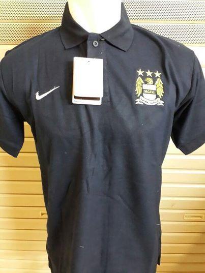 Jual Kaos Polo Manchester City Warna Hitam Terbaru 2014