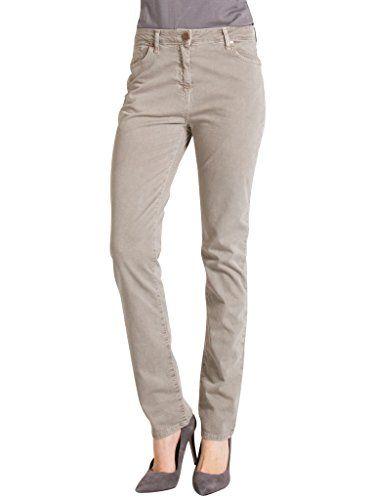 e577ee71045b4a Carrera Jeans – Pantalón 753 para Mujer, Estilo Recto, Color Liso, Tejido  Gabardina