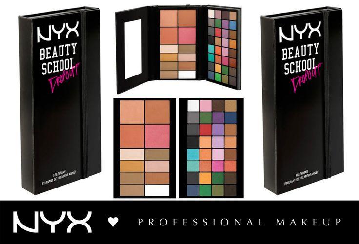 Ακόμα μια φοβερή, πολυχρηστική παλέτα απο NYX Cosmetics! H Beauty School Dropout - Freshman σας δίνει τα βασικά για πρόσωπο και μάτια! Σκιές σε γήινες αλλα και έντονες αποχρώσεις, πούδρες για φωτοσκιάσεις και ρουζ! Πολλά χρώματα με ματ και λαμπερό φινίρισμα για τη δημιουργία αμέτρητων looks!