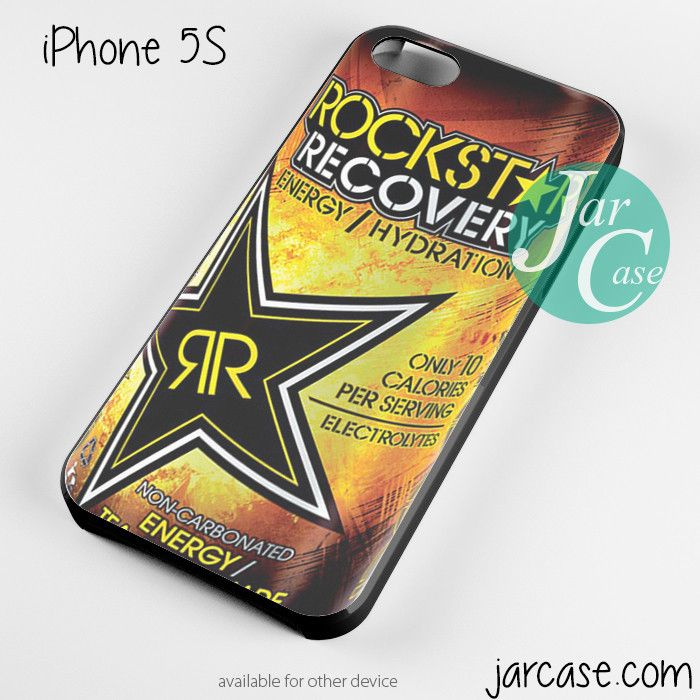 rockstar energy drink recovery Phone case for iPhone 4/4s/5/5c/5s/6/6 plus