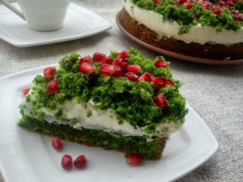 Ciasto szpinakowe Leśny mech
