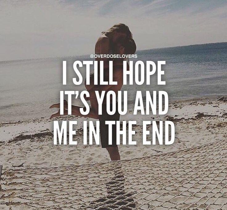 I won't stop...