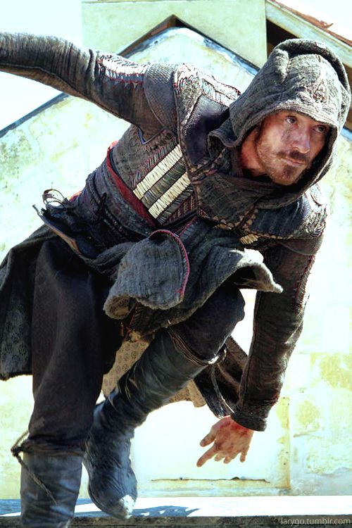 "Michael Fassbender as Callum Lynch /Aguilar in ""Assassin's Creed"" (2016)  #Michael Fassbender"