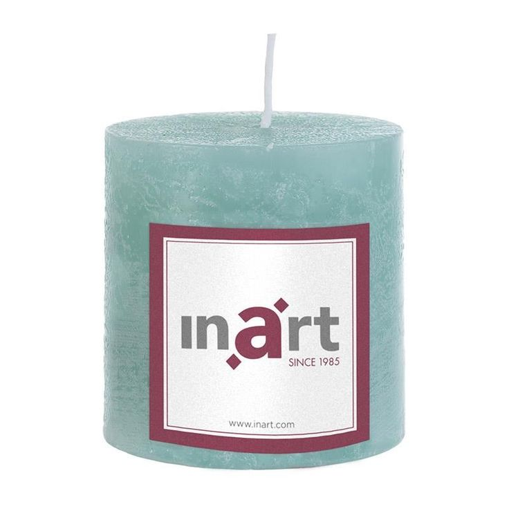 Pillar Scented Candle 7x7.5 cm - Candles - Aromatics - DECORATIONS - inart
