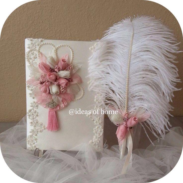 Düğün Anı Defteri (instagram : @ideas_of_home)