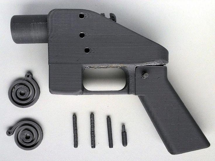 Model pistole / Gun model