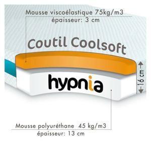 Hypnia - Matelas L'Essentiel - 140 x 190 (cm) - Achat / Vente matelas - Cdiscount