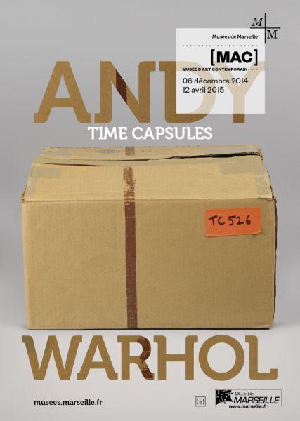 Andy Warhol Time Capsules au MAC