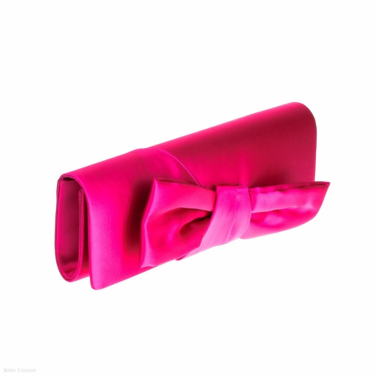 Bow Clutch (Pink)