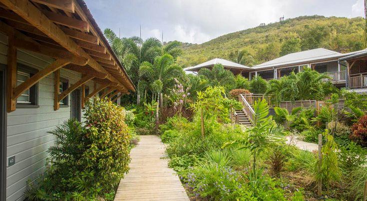 French Coco Hotel. Martinique. Tartane