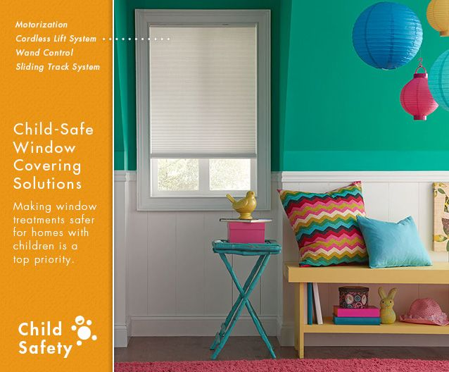 48 Best Child Safe Window Treatments Images On Pinterest