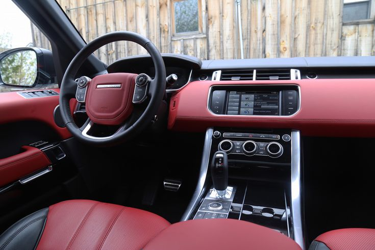 Range Rover Autobiography >> White Range Rover With Red Interior - New Blog Wallpapers   Red interiors, Range rover white ...