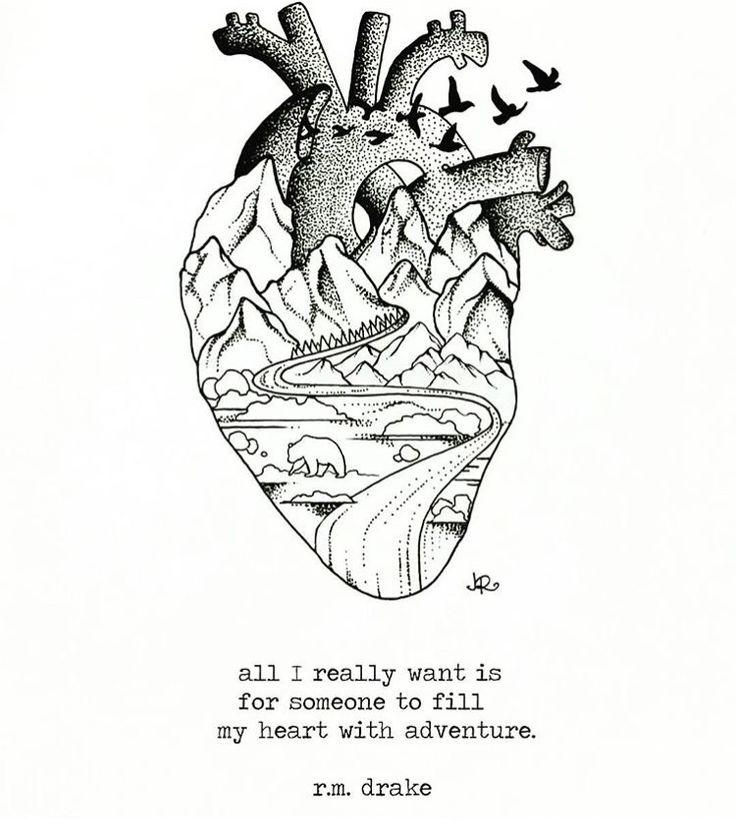 Heart full of adventure