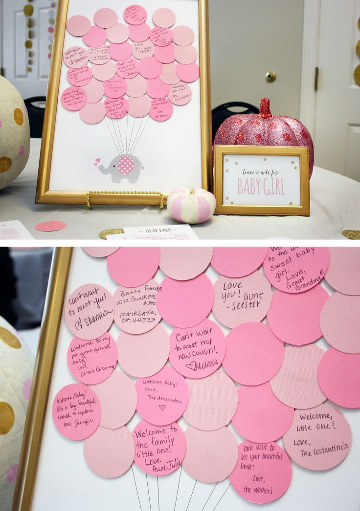 "Modern Glam ""Little Pumpkin"" Shower for Baby Girl"