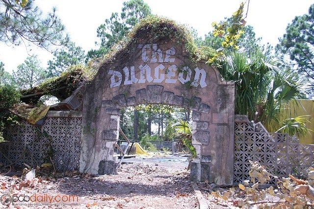 Abandoned Amusement Park on The Miracle Strip in Panama City, Florida. Photo by Jason Koertge, 2009. Park opened in 1963 & closed in 2003. Went there every year on our vacation.
