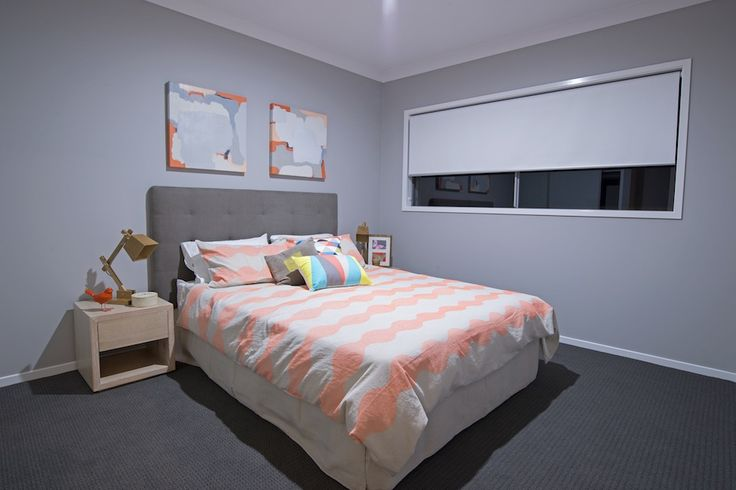 Bedroom decorated in the Urban Life theme
