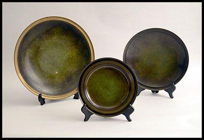 Just Andersen bronze dishes