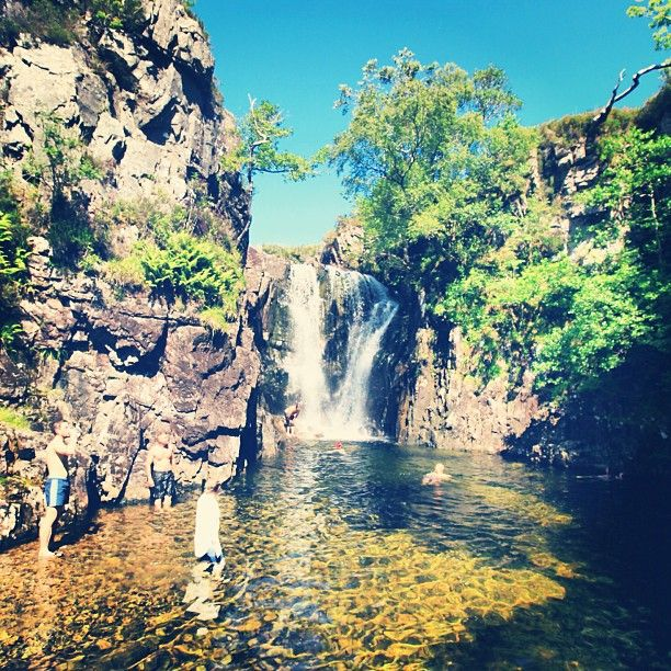 Follach Waterfall.
