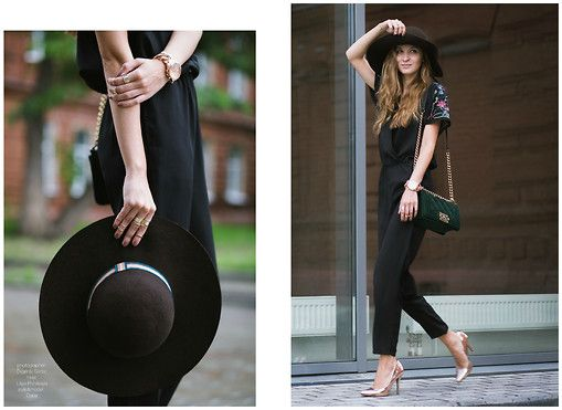 Promod Hat, Zara Suit, Calliope Shoes, Michael Kors Watch, H&M Rings, Chanel Bag