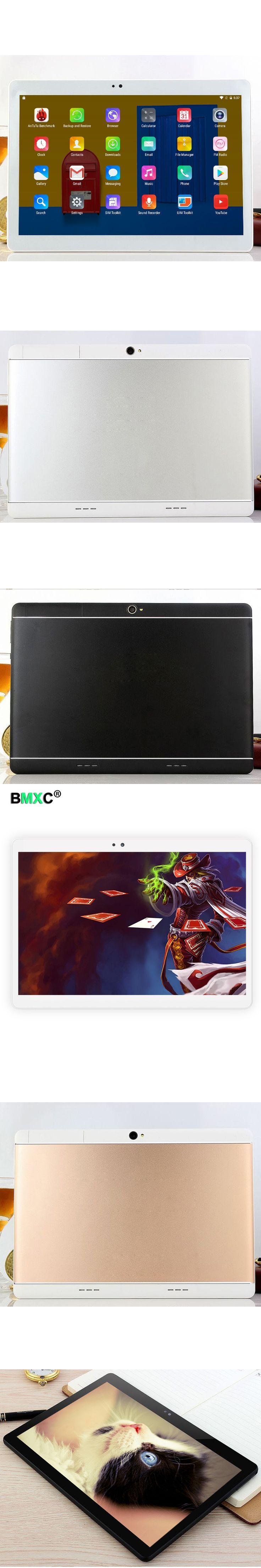 10.1 inch Octa Core 2017 Original powerful Android Tablet Pc 4GB RAM 64GB ROM IPS Dual SIM card Phone Call Tab Phone pc tablets