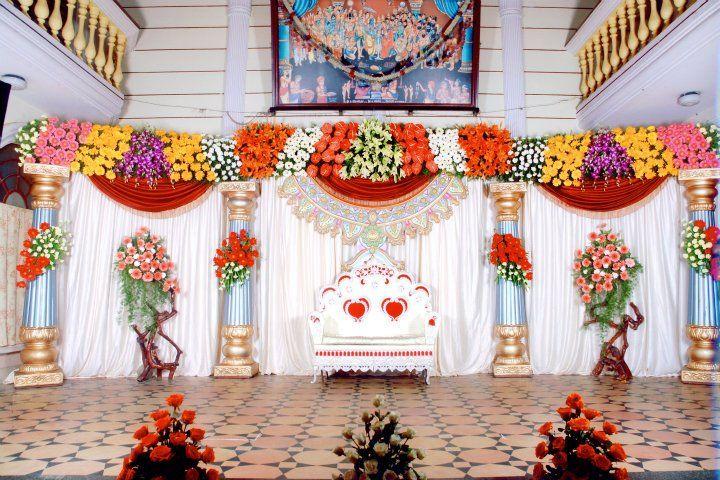 Bangalore Stage Decoration Design 378 Flower Stage Decoration