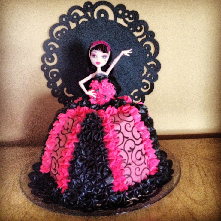 Ideas For A Monster High Cake