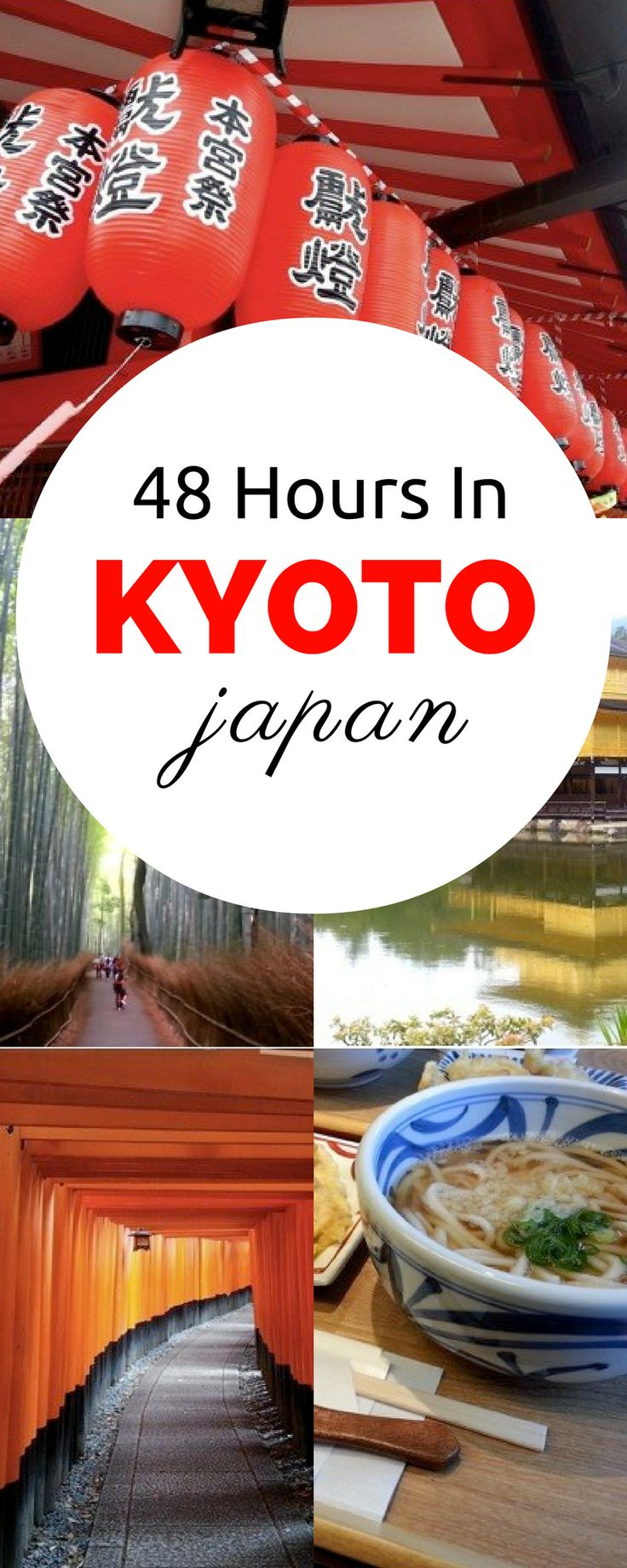 Heading to Japan soon?  Don't miss Kyoto!  With only 2 days in Kyoto, a mere 48 hours in Kyoto, you can see and do so much!  Click through to follow this preplanned itinerary, or use it for ideas!