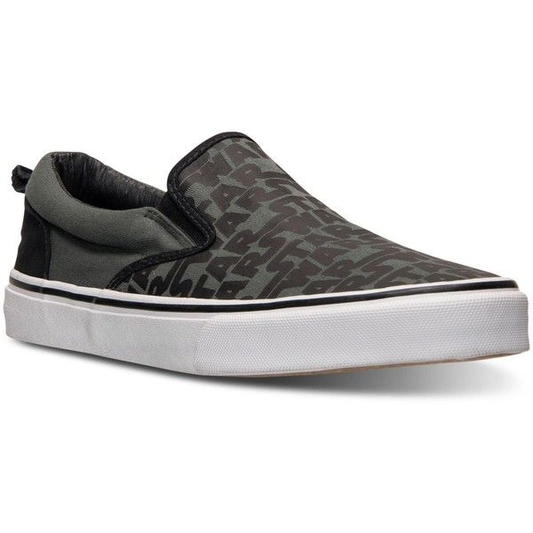 Skechers Men's Star Wars Classic Slip-On Casual Sneakers from Finish... ($40) ❤ liked on Polyvore featuring men's fashion, men's shoes, men's sneakers, charcoal black star wars, mens black shoes, mens slipon shoes, mens shoes, mens sneakers and mens slip on shoes