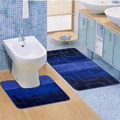 [ 19% OFF ] 2Pcs /set Bath Mat Anti-Slip Absorbent Bathroom Toilet Mats
