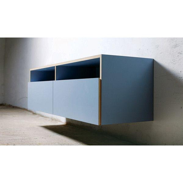 Minimalistisches Sideboard Für Die Wand. Für Esszimmer Und Wohnzimmer