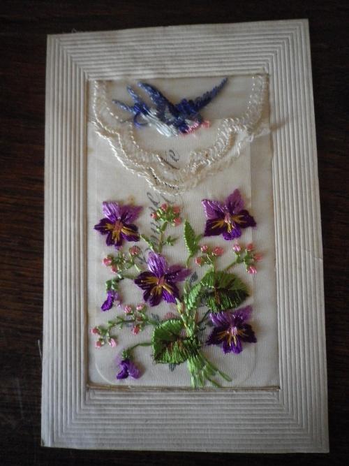 carte violettes