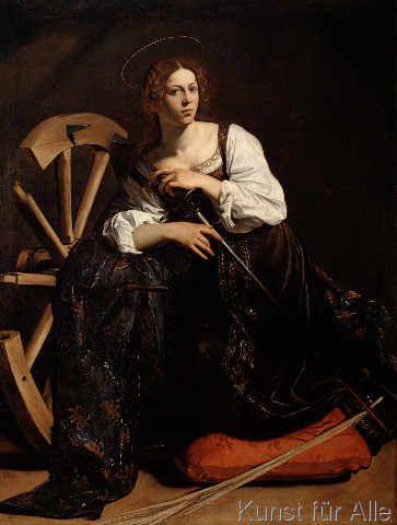 Michelangelo Merisi Caravaggio - Heilige Katharina von Alexandrien