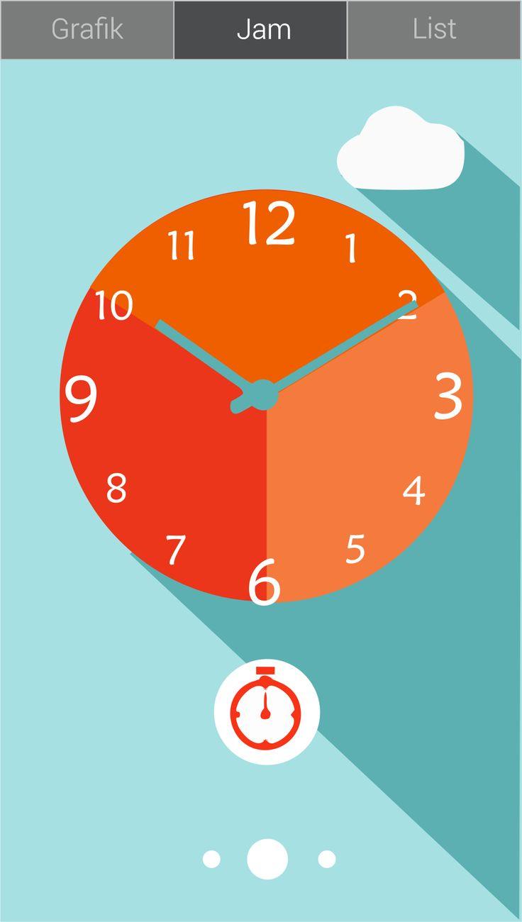 Aplikasi Scheduling Time - Tugas Desain IMK