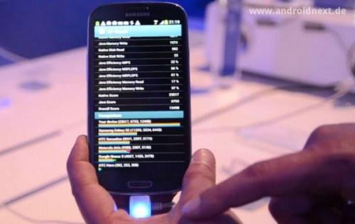 El Samsung Galaxy S3 vuelve a mostrar su potencial en un test de rendimiento: http://ow.ly/aOlv8