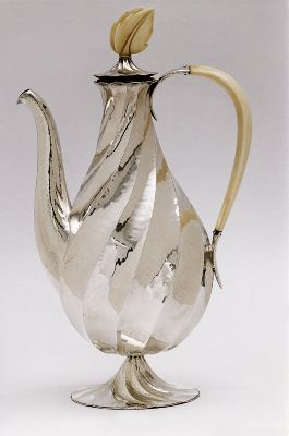 ¤ Dagobert Peche  Coffee Pot  1922  (Galerie Anne Sophie Duval, Paris)