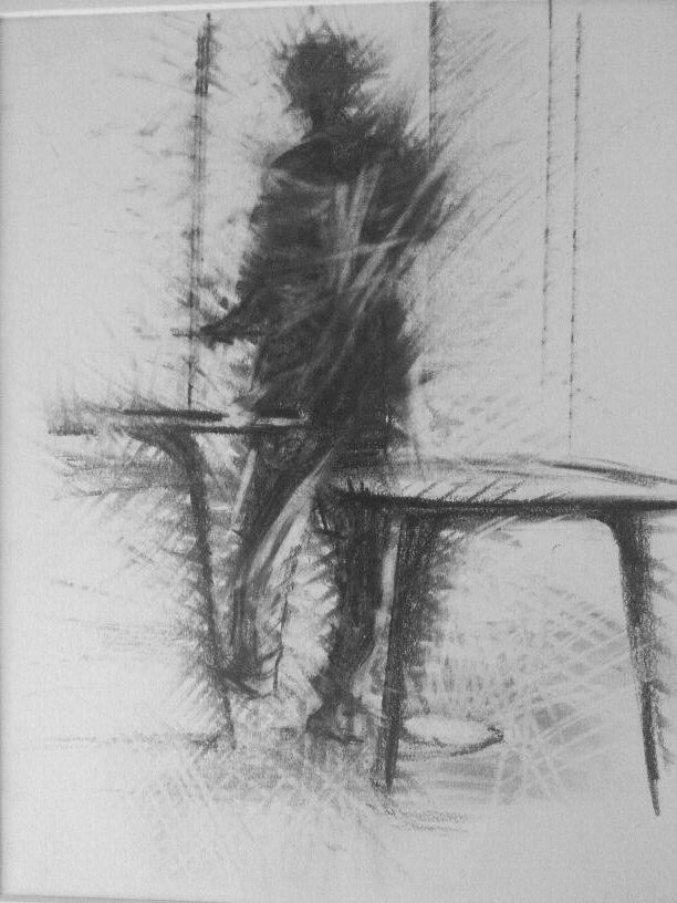 Ai tavoli disegno a grafite