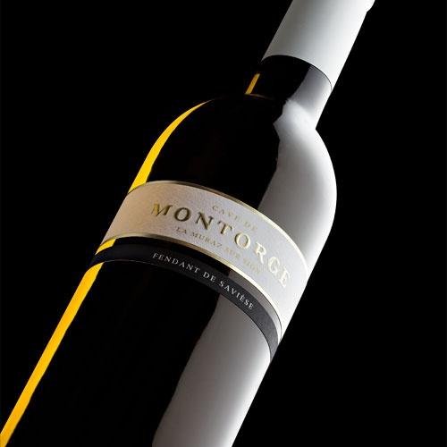 OCTANE communication | Cave de Montorge #wine #label #design #packaging