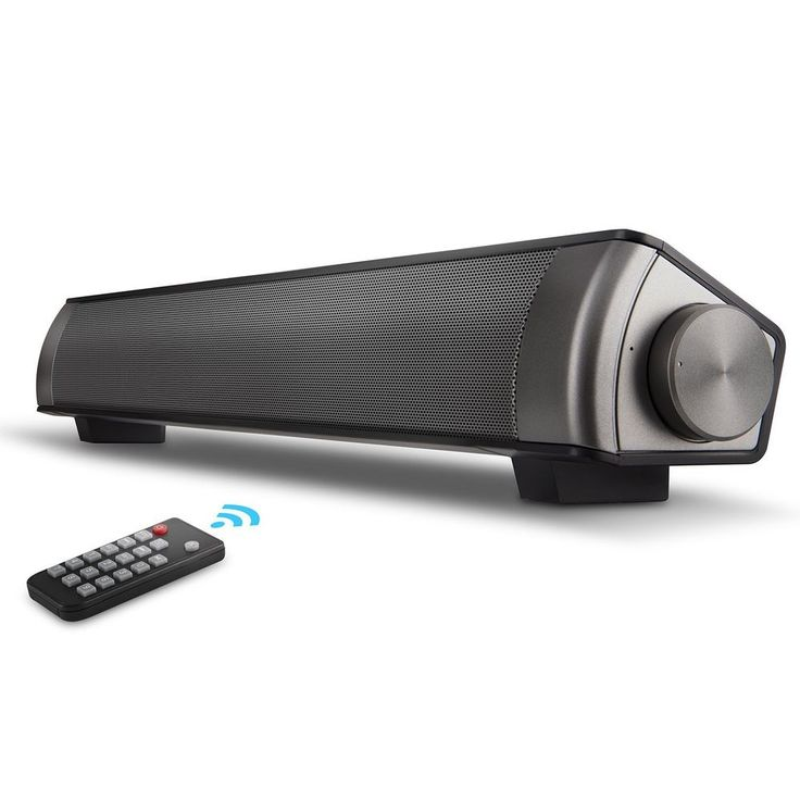 Soundbar [2018 UPGRADED] Surround Sound Bar Home Theater System With Wired, TF C #NakaLight