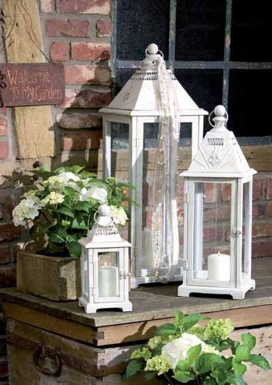 Lanterns for the garden or indoor