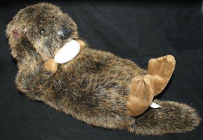 Stuffed Animal River Sea Otter 10 Arctic Circle Enterprises Clam