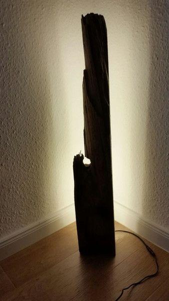 Stehlampen - Treibholz Lampe - ein Designerstück von Deichkinners bei DaWanda Driftwood